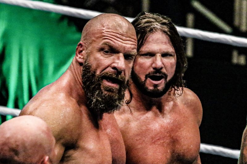 AJ Styles has been pitching the idea of facing Triple H for sometime now