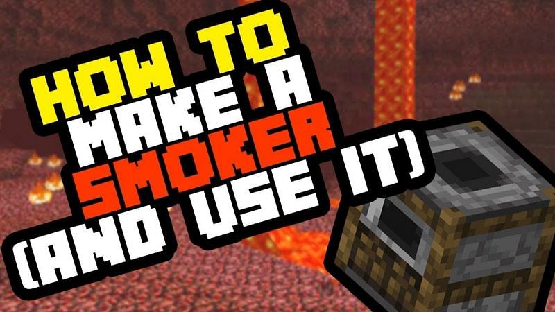A guide for how to make and use a Smoker in Minecraft. (Image via Owen Adams/YouTube)