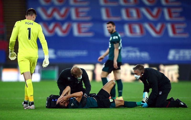 Jack Cork is currently injured
