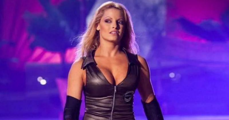 Trish Stratus entered the Hall Of Fame back in 2013