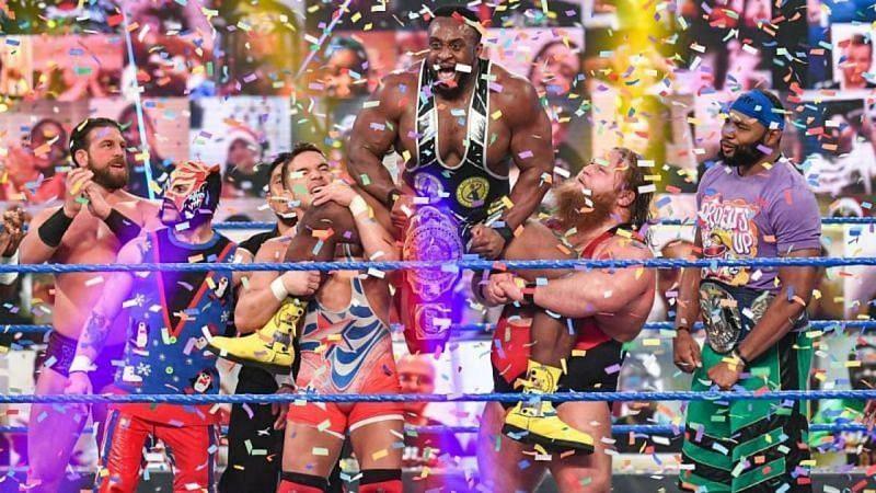 बिग ई पिछले हफ्ते SmackDown में सैमी जेन को हराकर नए इंटरकॉन्टिनेंटल चैंपियन बने थे