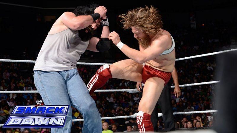 Daniel Bryan has worked with Brodie Lee, back when he was Luke Harper in WWE