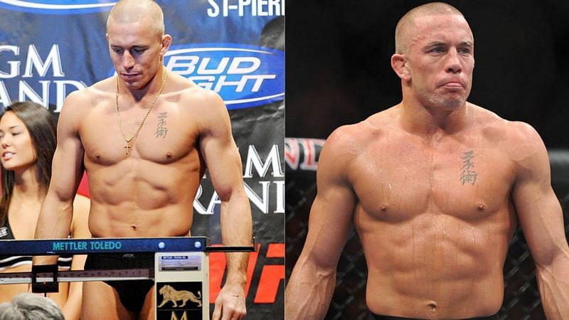 Is Georges St-Pierre preparing for a fight with Khabib Nurmagomedov?