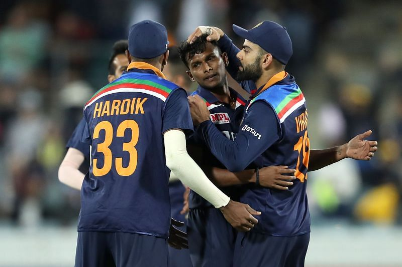 Thangarasu Natarajan enjoyed a fine series against Australia.