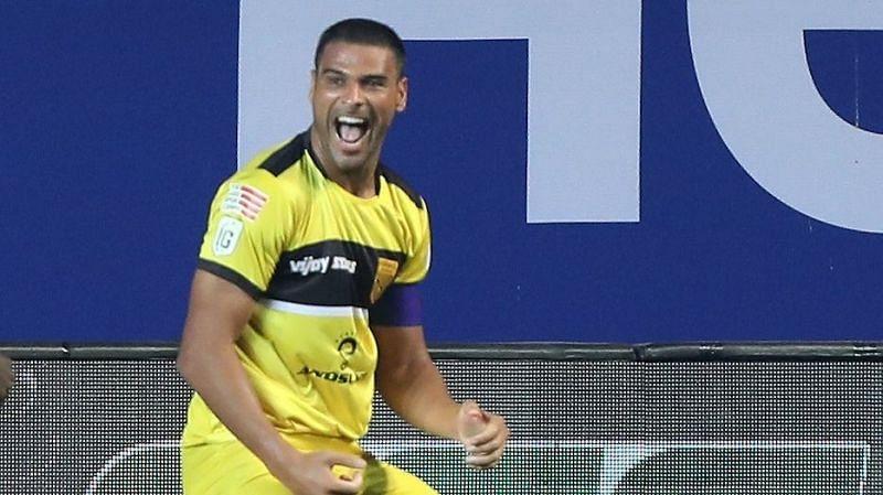 Hyderabad FC will depend on Aridane Santana to get the goals. (Image: ISL)