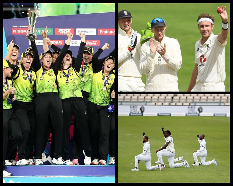 Looking back at cricket moments from 2020
