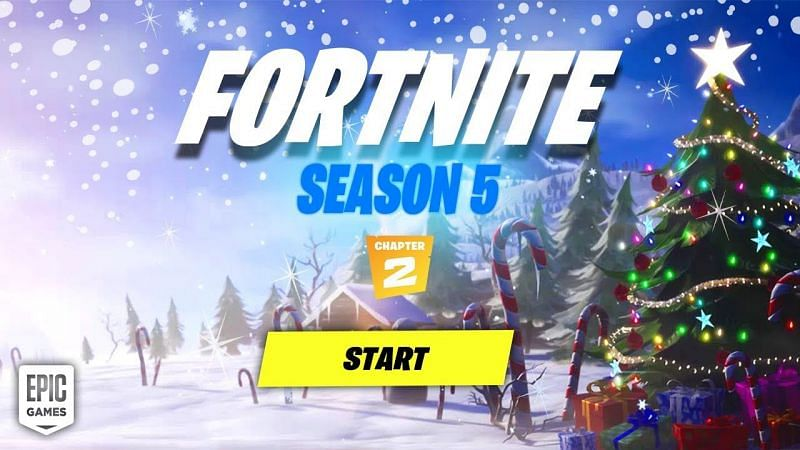 The winter festival in Fortnite is finally underway, however, the snow did bring some interesting glitches into the game altogether (Image via Epic Games)