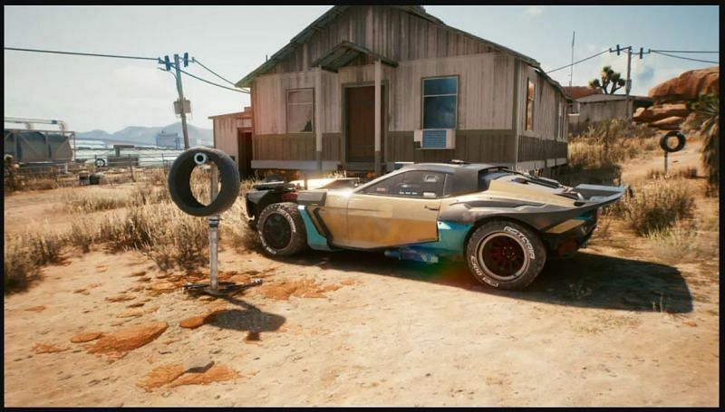 The Javelina cannot be acquired in the streets. (Image via CD Projekt RED)