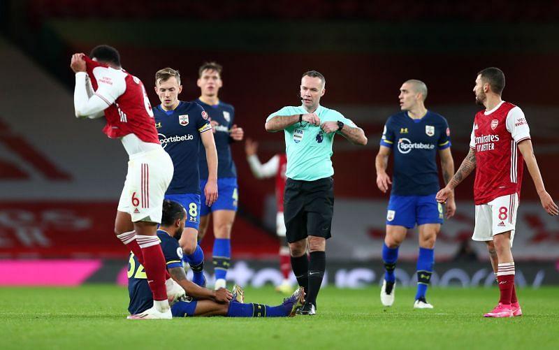 Arsenal v Southampton — Premier League