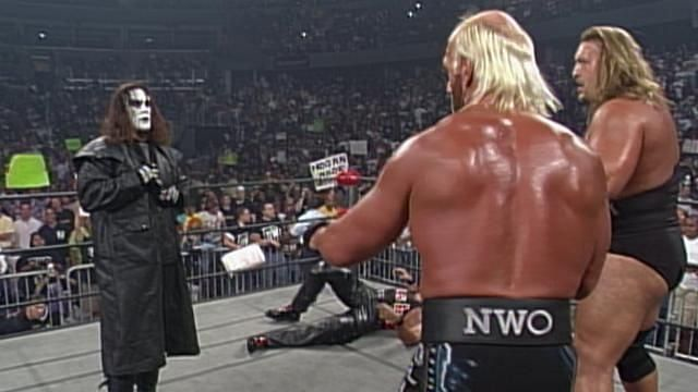 What he did really think of Hogan and his band of misfits? (Pic Source: WWE)