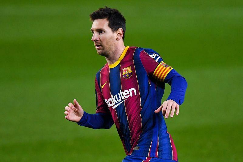 Barcelona captain Leo Messi