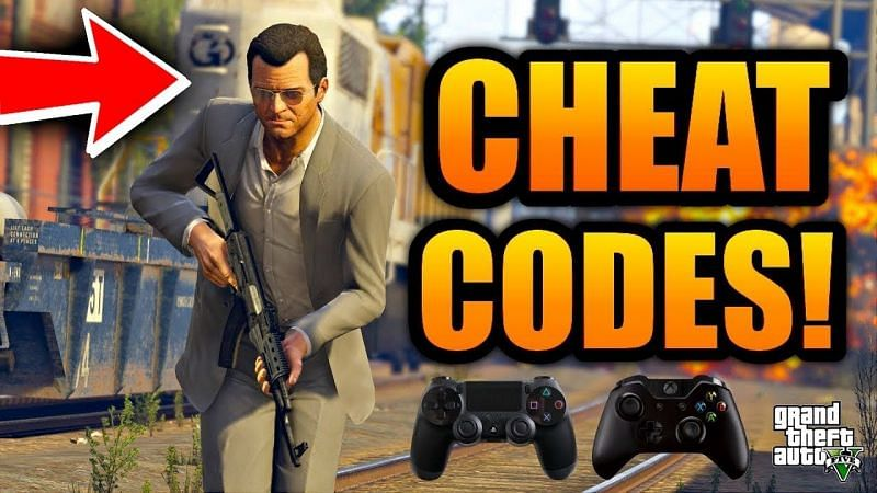 Cheats allow players to do crazy things in GTA 5 (Image via JAM, YouTube)