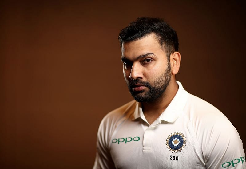 Rohit Sharma has a batting average of 26.32 in Tests outside India
