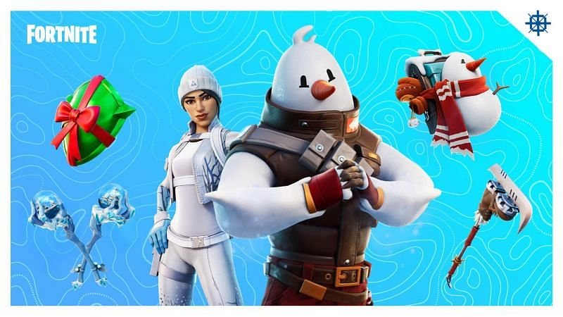 How to claim the Frost Squad skin for free in Fortnite (Image via Epic Games)