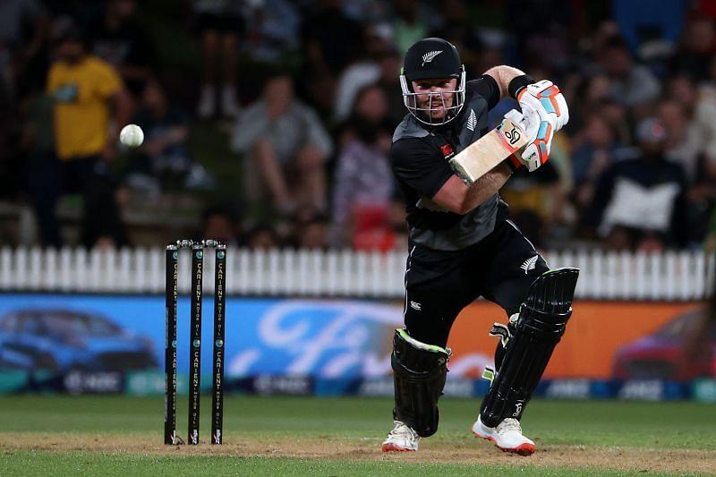 Tim Seifert scored an unbeaten 84 for New Zealand