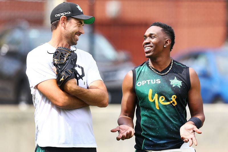 Dwayne Bravo has joined the Delhi Bulls franchise, while Stephen Fleming has parted ways with the team.