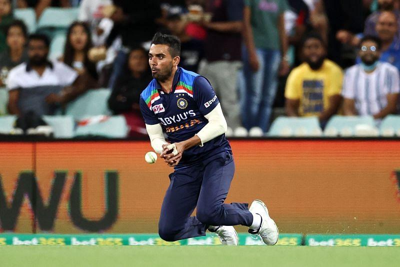 दीपक चाहर ने तीसरे टी20 में एक अहम कैच छोड़ दिया था