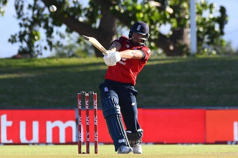 Dawid Malan in action versus South Africa. Pic: ICC/Twitter