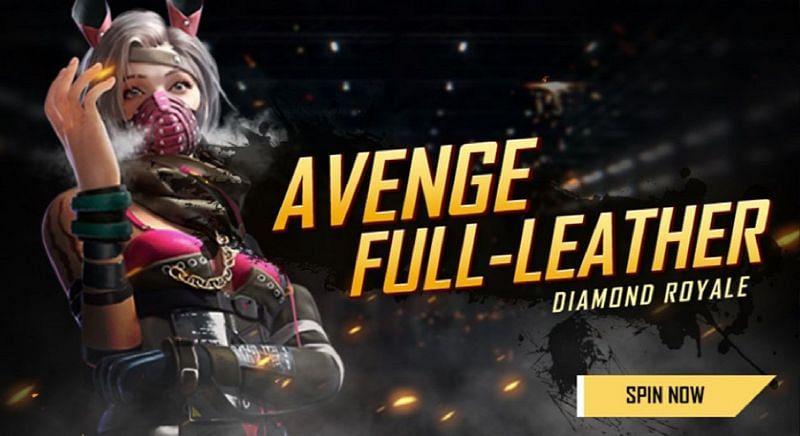 The Avenge Full-Leather bundle, the Diamond Royale