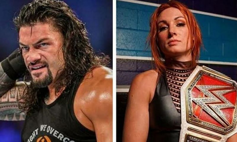 Becky Lynch and Roman Reigns have the potential to main-event WrestleMania.