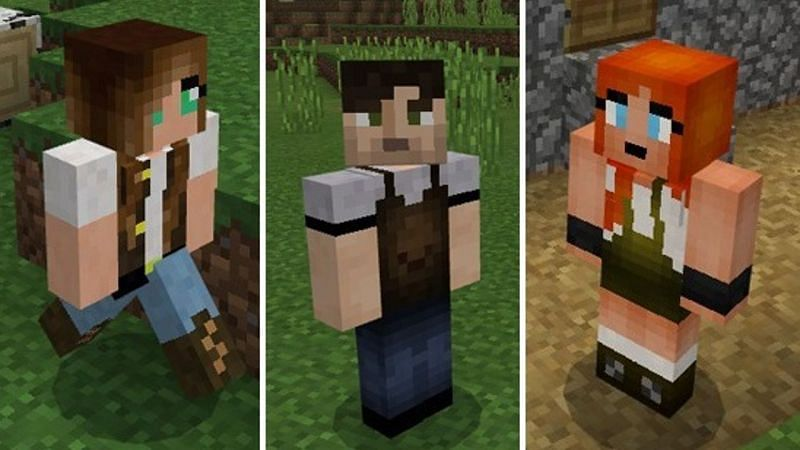 Villagers Come Alive (Image via minecraft.net)