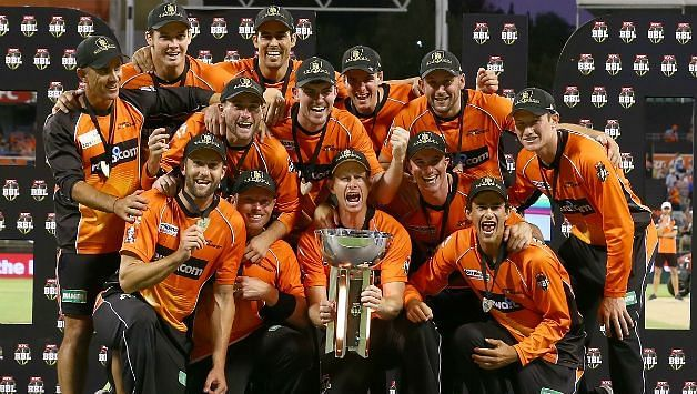 The Perth Scorchers won a record third BBL title in the 2016-17 season.