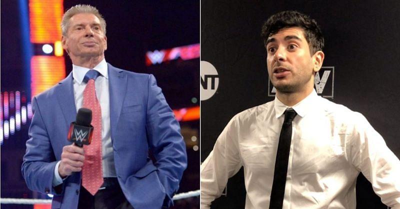 Vince McMahon and Tony Khan