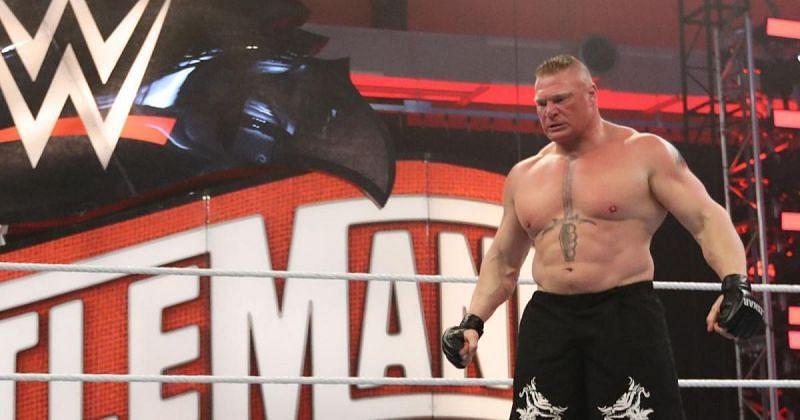 Brock Lesnar.