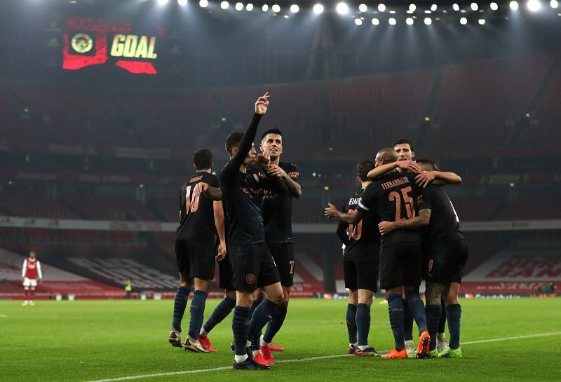 Arsenal vs Manchester City - Carabao Cup Quarter-Final