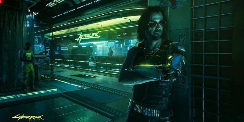 Cyberpunk 2077 is replete with tons of pop-culture references and fun Easter eggs (Image via CD Projekt Red)