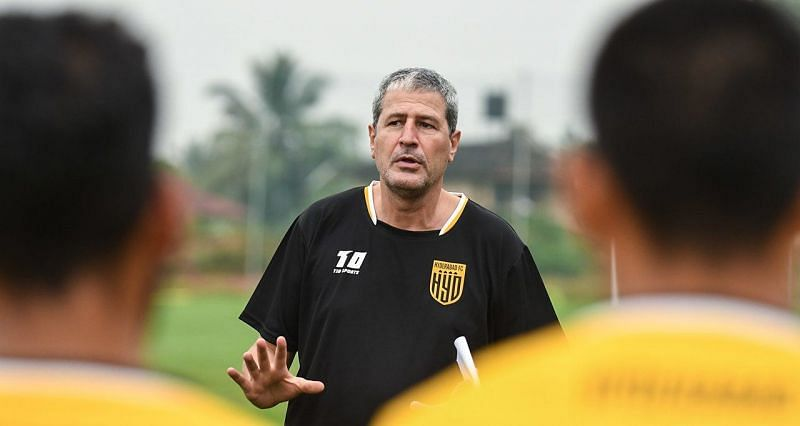 Manolo Marquez has had a positive impact on the Hyderabad FC side (Image courtesy: ISL)