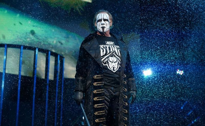 Sting recently made his AEW debut