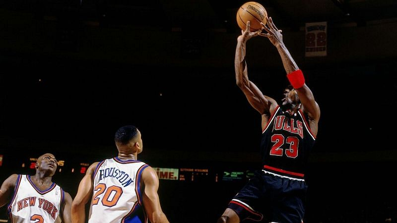 Jordan in his days with the Chicago Bulls.