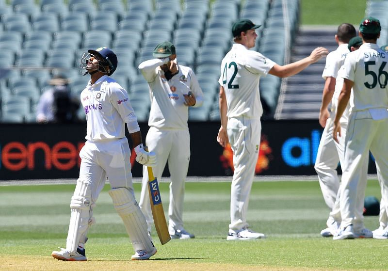 Mayank Agarwal was the top scorer in the second innings for India with a score of 9