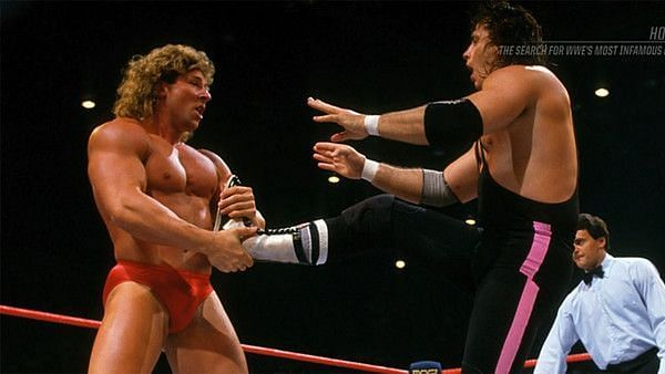 Tom Magee defeated Bret Hart in October 1986