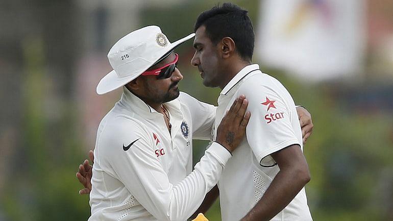 हरभजन सिंह और रविचंद्रन अश्विन