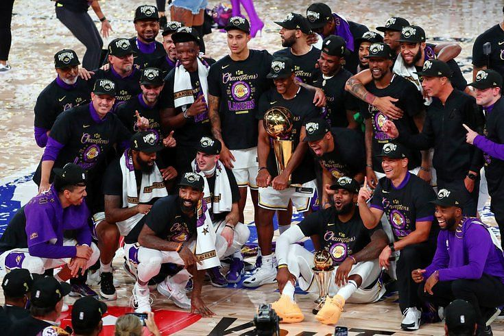LA Lakers 2020 NBA Title