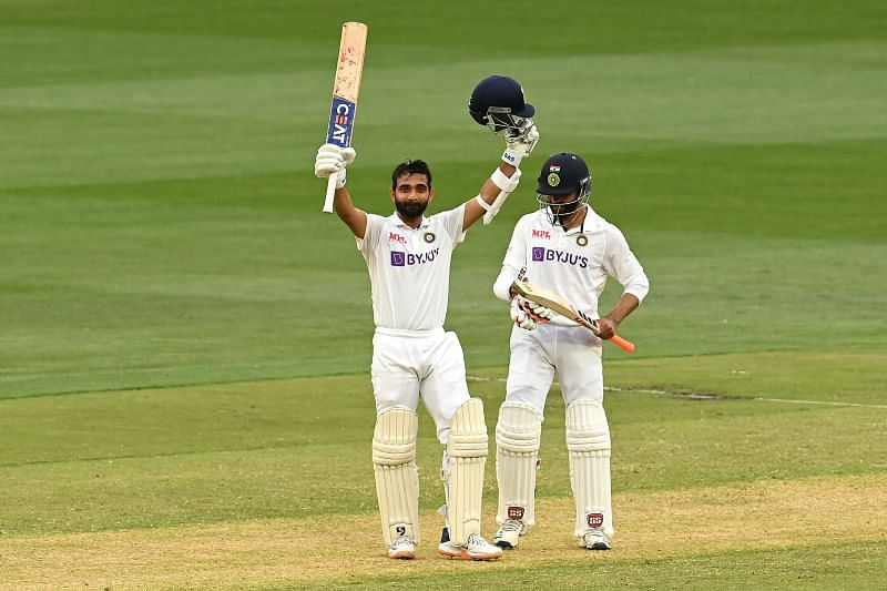 Ajinkya Rahane smashed a century in the first innings of the Melbourne Test.