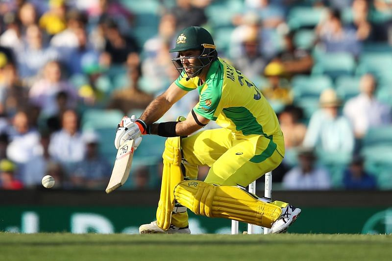 Glenn Maxwell tries to target the bowlers with unorthodox strokes
