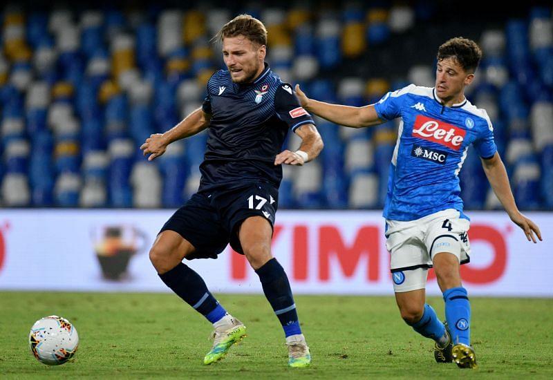 Napoli take on Lazio this weekend