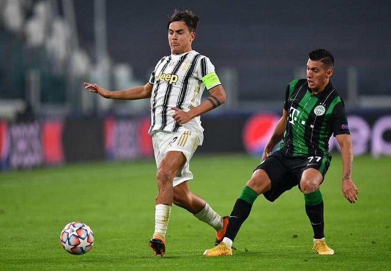 Juventus v Ferencvaros Budapest: Group G - UEFA Champions League