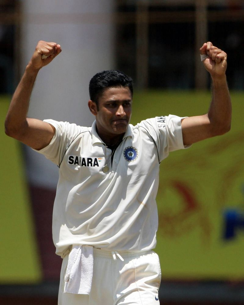Kumble was appointed Test captain in 2007