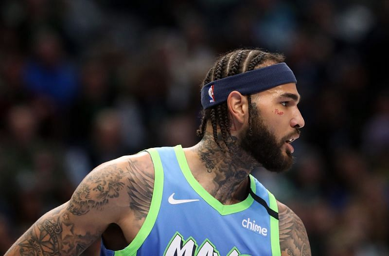 Willie Cauley-Stein in action for the Dallas Mavericks