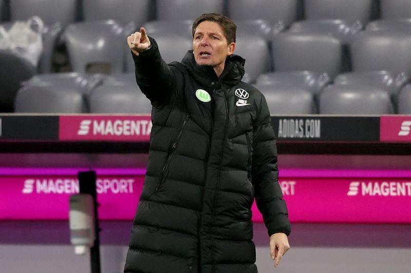 Wolfsburg coach Oliver Glasner