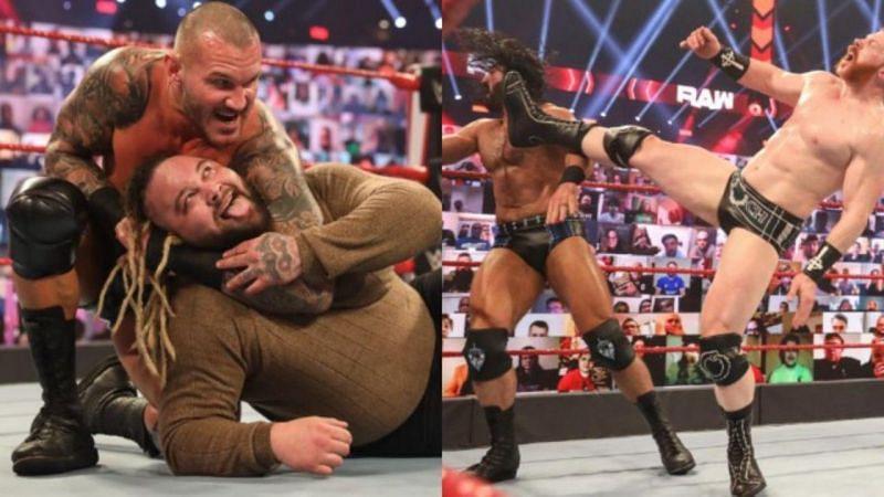 WWE Raw में कुछ शानदार पल देखने को मिले।