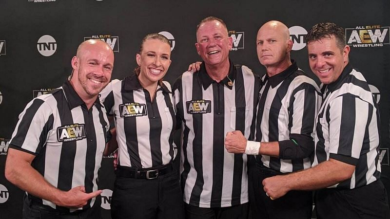 Jim Ross claims that AEW referees are the subject of abuse