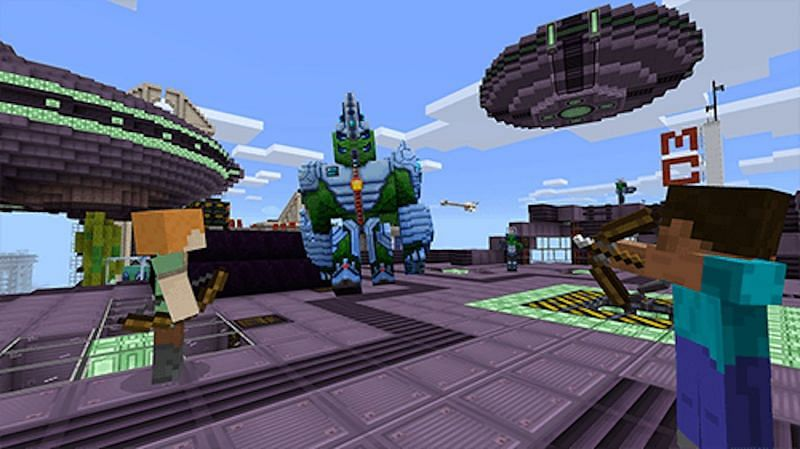 Players can directly download add-ons from the Minecraft website (Image via minecraft.net