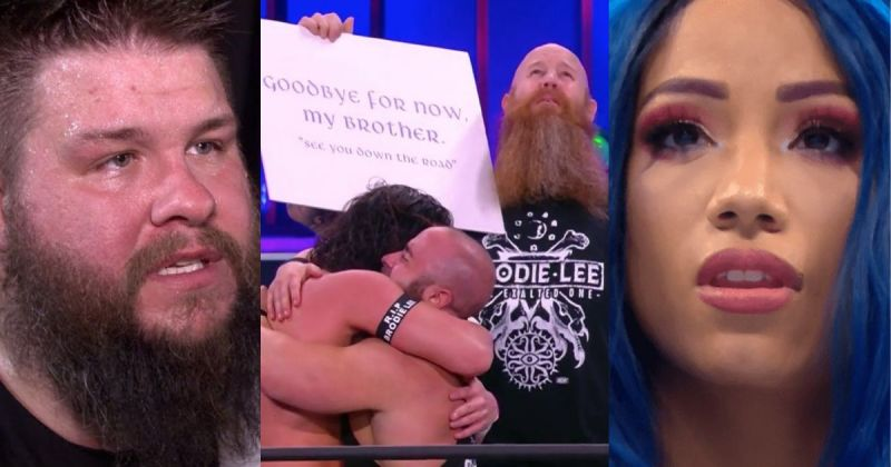 Several wrestlers and personalities reacted to AEW Dynamite