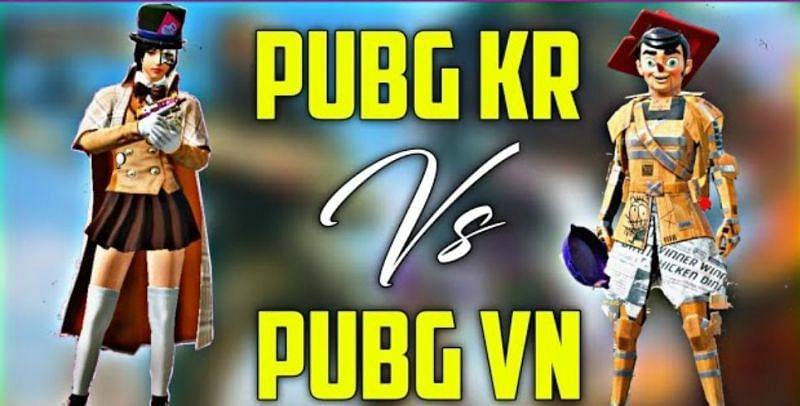 Assessing PUBG Mobile KR and PUBG Mobile VN to see which is better (Image via Sashank | YouTube)