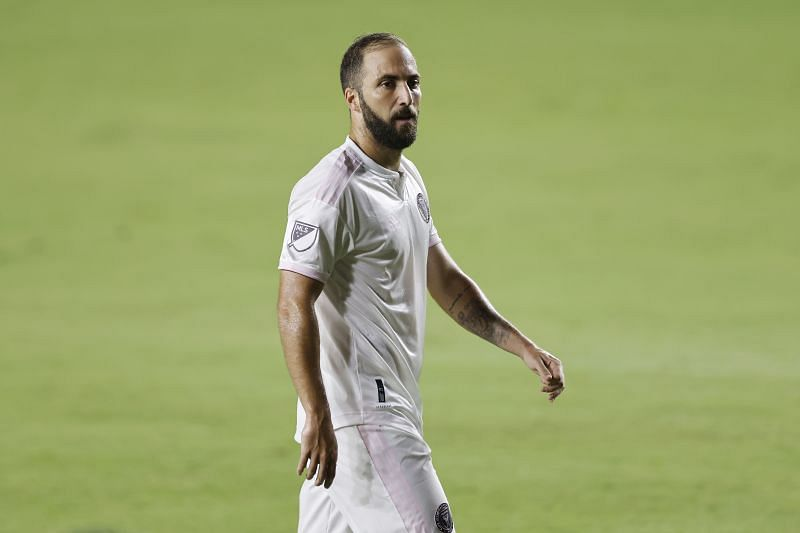 Gonzalo Higuain played for the likes of Real Madrid and Juventus